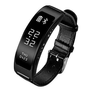 Pulsera inteligente para iOS / Android Monitor de Pulso Cardiaco / GPS / Llamadas con Manos Libres / Resistente al Agua / Cámara Temporizador / Reloj Cronómetro / Seguimiento de Actividad / 128MB