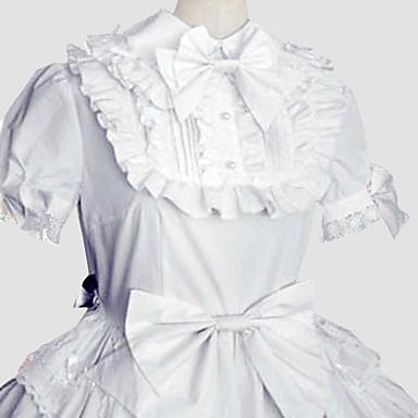 Söpö Lolita Prinsessa Naisten Yksiosainen Mekot Cosplay Lyhythihainen