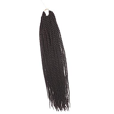 Trenza de la torcedura Trenzas de cabello Senegal Cabello 100 % Kanekalon Castaño rojizo oscuro Cabello para trenzas Extensiones de