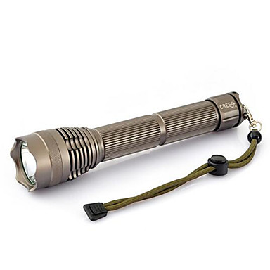 LED taskulamput LED 2000 lm 3 Tila LED Akulla ja laturilla Zoomable Säädettävä fokus Vedenkestävä Erityiskevyet Kompakti koko
