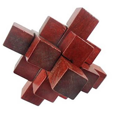 木製立体パズル おもちゃ アイデアジュェリー ウッド 女の子 男の子 ギフト 1pcs