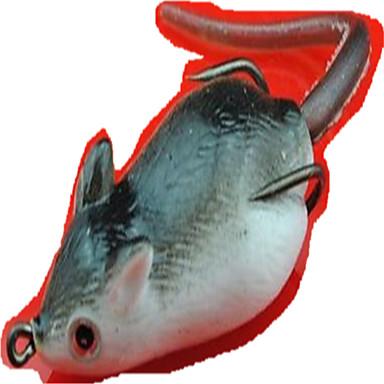 1pcs stk Myk Agn / Sluk Mus Myk Plastikk 3D Søfisking / Ferskvannsfiskere