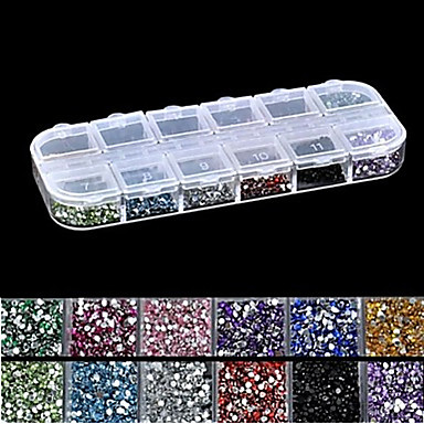 1 pcs Nail Jewelry / Payetler Tırnak Tasarımı Tasarımı Şık / Sıradan Sevimli