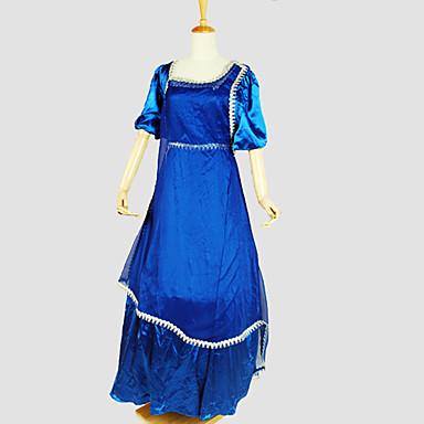 Gothik Viktorianisch Damen Einteilig Kleid Cosplay Kurzarm