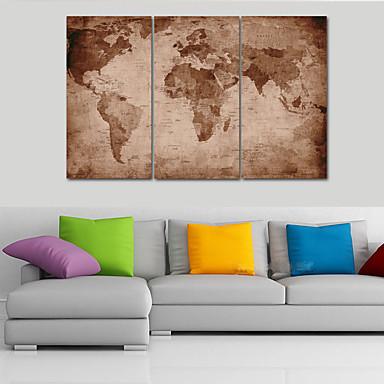 風景 伝統風,3枚 キャンバス 横式 プリント 壁の装飾 For ホームデコレーション