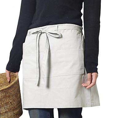 japoński styl fartuch (bawełna 67 * 116) z kieszeniami - dla restauracji i gospodarstw domowych