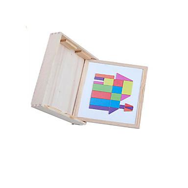 ブロックおもちゃ ギフトのため ブロックおもちゃ 趣味&レジャーグッズ 四角形 ウッド 2~4歳 5~7歳 8~13歳 虹色 おもちゃ