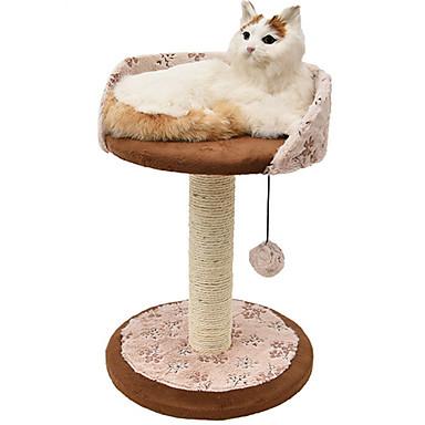 ネコ ベッド ペット用 マット/パッド カジュアル/普段着 ベージュ ウッド