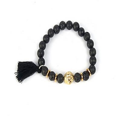 Damen Ketten- & Glieder-Armbänder Freundschaft Modisch Perlenbesetzt Künstliche Perle vergoldet Schmuck Für Alltag