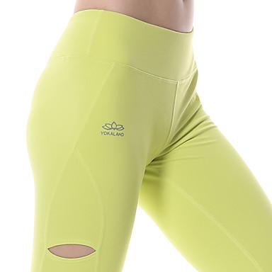 Yokaland Dame Treningstights / Tights til jogging Fort Tørring, Pustende, Ultralett stoff Tights / Bunner Yoga & Danse Sko / Pilates /