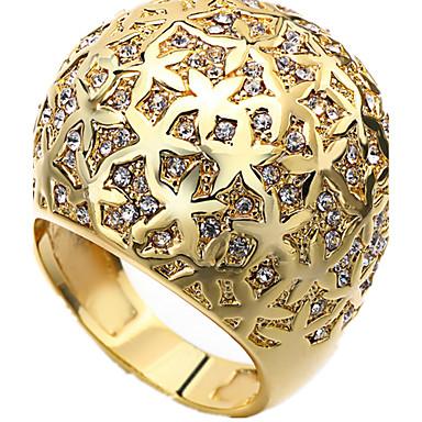 Ringe Normal Schmuck Damen Ring 1 Stück,Verstellbar Goldfarben