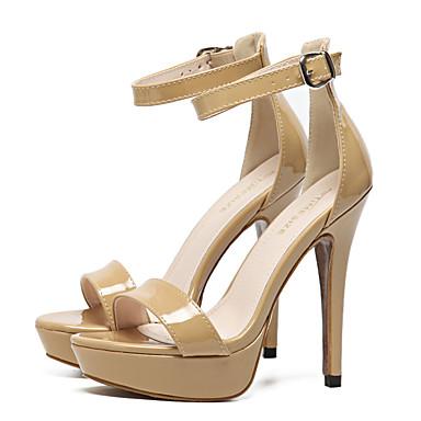 Soirée Mariage Similicuir Femme Noir Confort Sandales 05510413 Printemps Evénement Nouveauté amp; Talon Amande Chaussures Aiguille Eté 7Fwn5FPq