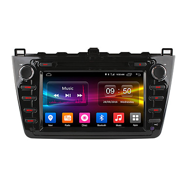 Ownice DGS8502F 8 polegada 2 Din Android6.0 In Dash-DVD DAB para Mazda Apoio, suporte / MPEG4 / CD / VCD / MP3 / JPEG