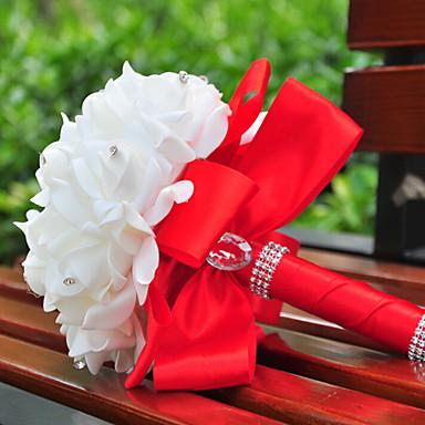 Bouquet sposa Bouquet Forniture per decorazioni nuziali Occasioni speciali Seta 23 cm ca.