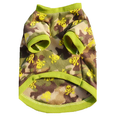 Hund Weste Hundekleidung Lässig/Alltäglich Britisch Tarnfarbe