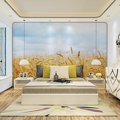 Mural Tela de pintura Revestimento de paredes - adesivo necessário Floral / Art Deco / 3D