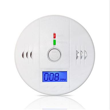 85dB advarsel høy sensitive lcd fotoelektriske uavhengig co gass-sensor kullosforgiftning alarm detektor