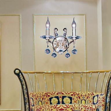 Duvar ışığı Uplight Duvar lambaları 60W 110-120V 220-240V E12/E14 Modern/Çağdaş Altın
