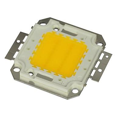 jiawen® 20w 1600-1800lm 3000K alb cald condus cip (dc 30-33v)
