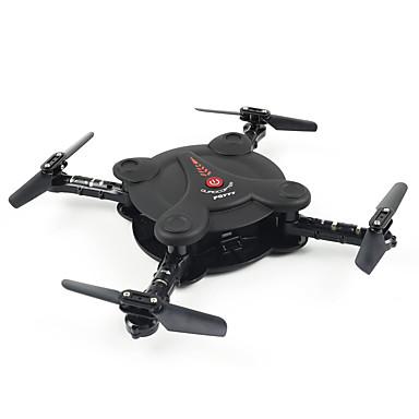 RC Drone FQ777 FQ777-17W 4 Kanaler 6 Akse 2.4G 0.3MP 720P*576P Fjernstyrt quadkopter FPV LED Lys Hodeløs Modus Flyvning Med 360 Graders