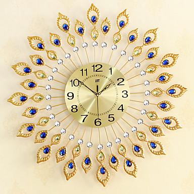 Moderno/Contemporáneo Oficina/ Negocios Familia Escuela/Graduación Amigos Reloj de pared,Novedad Cristal Metal 67*67 Interior Reloj