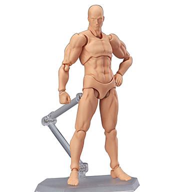 baratos Brinquedos de Montar-Modelos de exibição Brinquedos de Montar Manequim de arte posável Suprimentos Artísticos PVC Para Meninos
