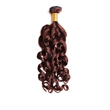 Человека ткет Волосы Бразильские волосы Крупные кудри 1 шт. волосы ткет