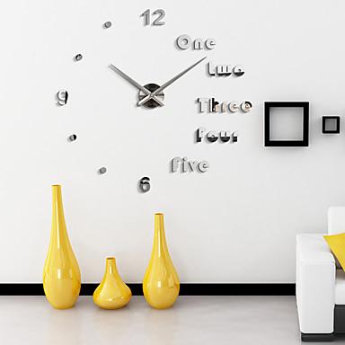 الحديثة / المعاصرة مكتب / الأعمال العائلة المدرسة / التخرج الأصدقاء ساعة الحائط,بدعة أكريليك 110*110 داخلي ساعة حائط