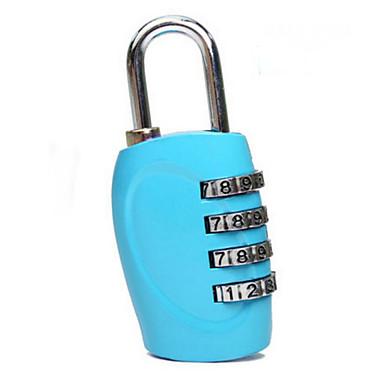1 Pça. Cadeado para Mala Cadeado com Código Prova-de-Água Portátil Acessório de Bagagem para Prova-de-Água Portátil Acessório de Bagagem