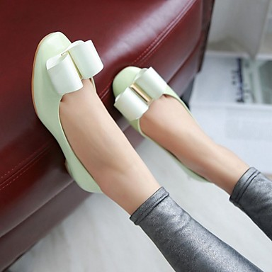 Automne Noeud pour Eté Confort Ballerines Plat Polyuréthane Printemps Talon Marche Hiver Nouveauté Bout rond 05563712 Synthétique Femme Chaussures wZqCxSXy4