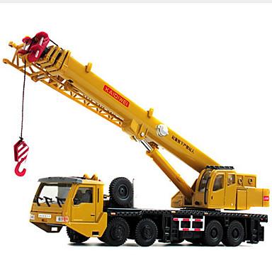 Guindaste Caminhões & Veículos de Construção Civil Carros de Brinquedo 1:60 Retratável Metalic Plástico ABS 1pcs Para Meninos Crianças