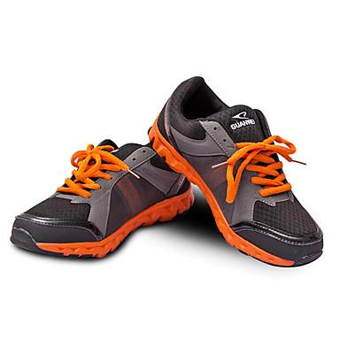 Chaussures de Skateboard Chaussures de Course Homme Respirable Extérieur Basses Grille respirante Course Orange Jaune Vert
