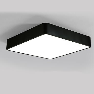 cuadrado 40 cm estilo moderno 24 w simplicidad llevó la lámpara del techo dormitorio montaje sala de estar para niños lámpara de la habitación