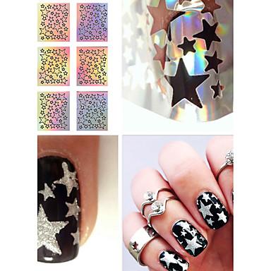 1 pcs Fashion Furador de Manicure Diecut Diário