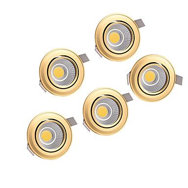 abordables Ampoules électriques-Perles LED Encastré LED Encastrées Blanc Chaud Blanc Naturel 220-240 V Maison / Bureau Salon / Salle à Manger Chambre / 5 pièces