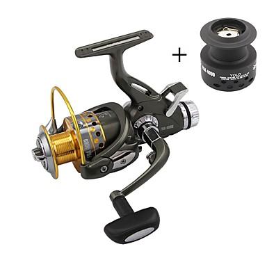 Fiskesneller Spinne-hjul 5.1:1 Gear Forhold+9 Kulelager Hånd Orientering Byttbar Spinne Pêche à la carpe - FRA6000
