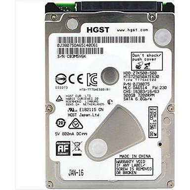 HGST Laptop / notebook merevlemez 500GB HTS725050A7E630