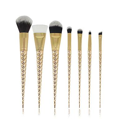 7pcs Pinceles de maquillaje Profesional Cepillo para Colorete / Pincel para Sombra de Ojos / Cepillo de Cejas Pelo Sintético Profesional