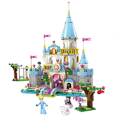 Building Blocks 669 pcs Princess / Cinderella Castle Romantic Girls' Gift