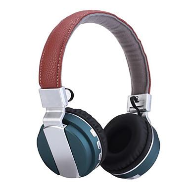 Bezprzewodowy zestaw słuchawkowy stereo składane słuchawki z mikrofonem składania cancelation hałasu& akumulator litowo-jonowy