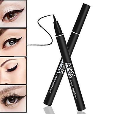 Eyeliners Gel Eyeliner Pencil Sminke 1 pcs Øye Daglig Hverdagssminke Vanntett Langtidsvarende Naturlig kosmetisk Pleieutstyr