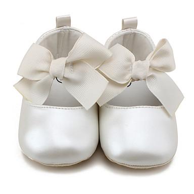 Per bambini Bambini Ballerine Primi passi Scarpette da culla Scarpe da  cerimonia per bambine Finta pelle 0790f96732d