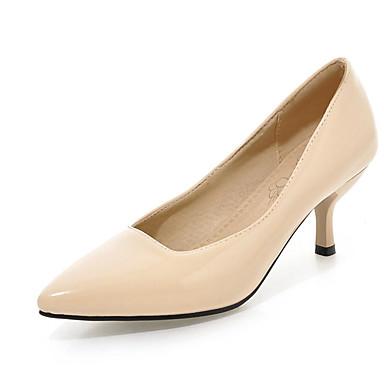 ราคาถูก รองเท้าส้นสูงผู้หญิง-รองเท้าสตรี-รองเท้าส้นสูง-สำนักงานและอาชีพ ไม่เป็นทางการ พรรคและเย็น-ความสะดวกสบาย-หนังเทียม-ส้นกริช-สีดำ สีน้ำเงิน สีเหลือง สีเขียว