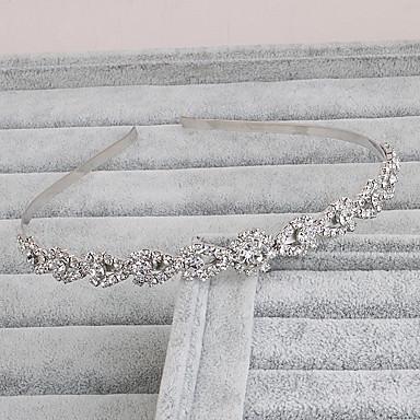 Strass Headbands com 1 Casamento Capacete