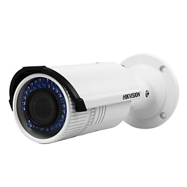 hikvision® ds-2cd2642fwd-izs câmera de rede 4MP vari-focal ao ar livre (motorizada lente de áudio / alarme i / o ip67 poe impermeável 120db wdr 3d