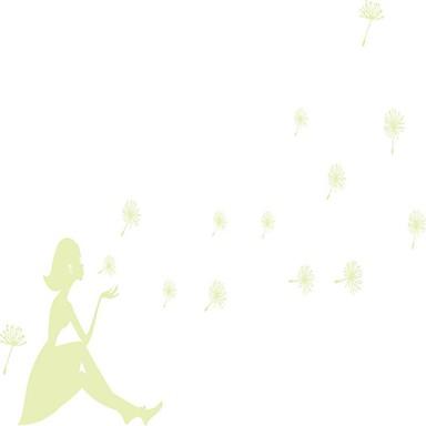 رومانسية مناظر الطبيعية مربع الناس ملصقات الحائط لواصق لواصق حائط مزخرفة لواصق الزفاف,ورقة الفينيل مادة تصميم ديكور المنزل جدار مائي