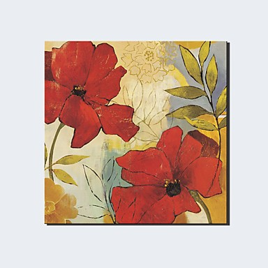 Hang malte oljemaleri Håndmalte - Landskap Klassisk / Moderne Lerret