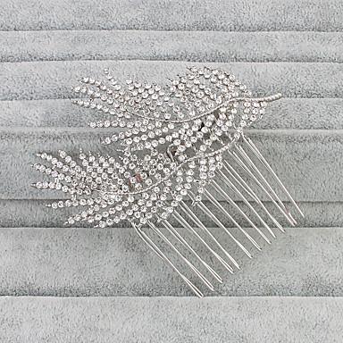حجر الراين فرش تمشيط للشعر 1 زفاف خوذة