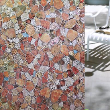 Art Deco Moderne Vindusklistremerke, Pvc / Vinyl Materiale Vindusdekorasjon Spisestue Soverom Kontor Barnerom Stue Baderom Butikk / Cafe