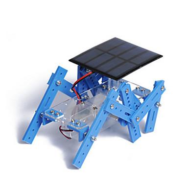 Robot Soldrevne leker Modellsett Leketøy Maskin Robot Soldrevet Originale GDS Utdanning Plast Metall Barne Gutt Deler